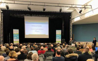Première réunion publique du Castelrenaudais
