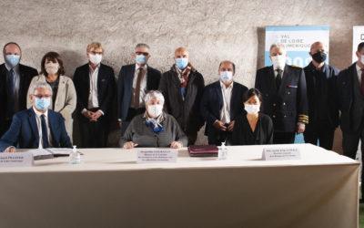 L'État, la Banque des Territoires et Val de Loire Numérique signent la convention de financement du Très Haut Débit sur les départements de Loir-et-Cher et d'Indre-et-Loire