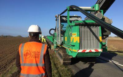 Le déploiement de la fibre a commencé en Val de Loire
